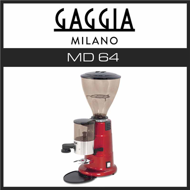 Кофемолка Gaggia MD 64 manual red