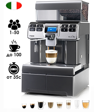 Saeco Aulika Top High Speed Cappuccino V2